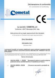 Certificazioni_Cometal