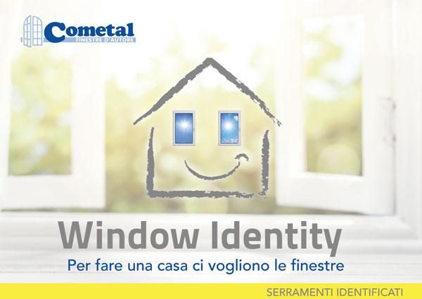 window identity copertina brochure
